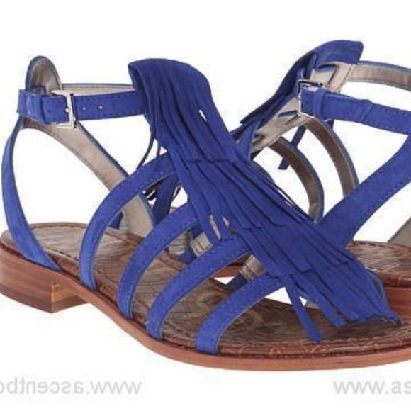 37a504d24ce Sam Edelman Estelle Blue gladiator sandals. M 5b32ef53aaa5b8ffabc47ea3